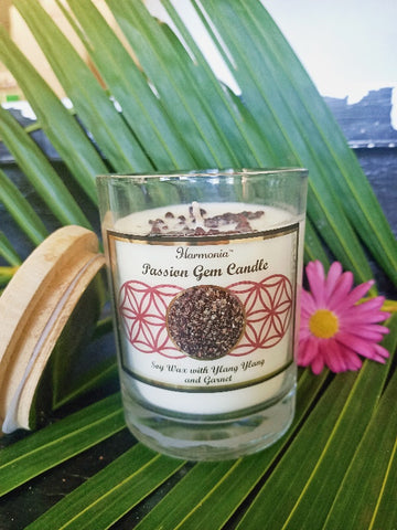 Passion Gemstone Soy Candle