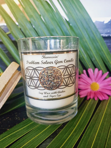 Problem Solver Gemstone Candle