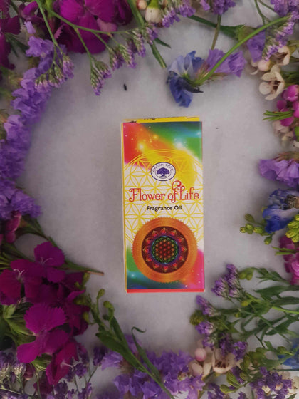 Flower Of Life Fragrant Oil-Gypsy Divine-Gypsy Divine