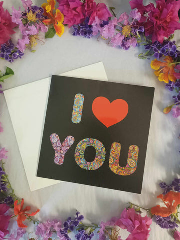 I Love You Blank Gift Card-Gypsy Divine-Gypsy Divine