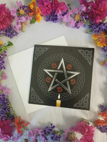 Pentacle Blank Card-Gypsy Divine-Gypsy Divine