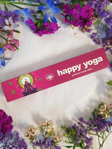 Premium Masala Incense - Happy Yoga-Gypsy Divine-Gypsy Divine