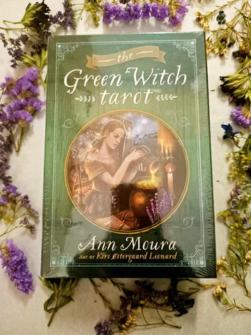 The Green Witch Tarot-Gypsy Divine-Gypsy Divine