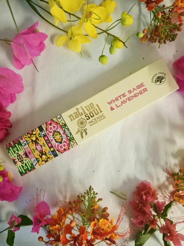 White Sage & Lavender Incense Smudge Sticks-Gypsy Divine-Gypsy Divine