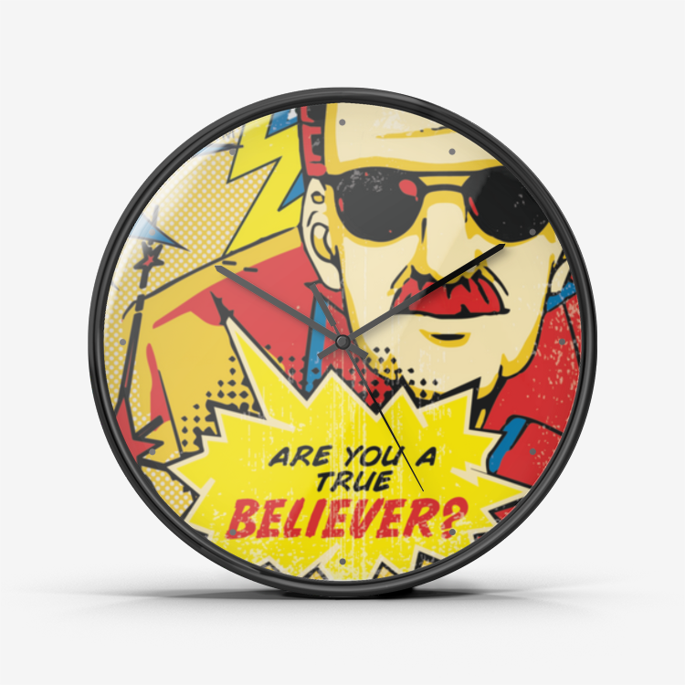 True Believer Wall Clock