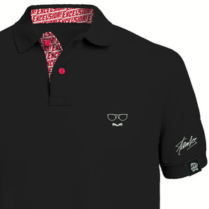 [Limited Edition] STAN LEE SIGNATURE - Polo Black