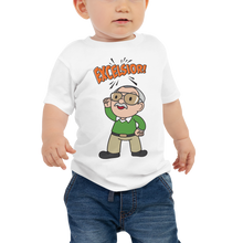 Load image into Gallery viewer, The Little Stan Lee EXCELSIOR! - Baby Tee