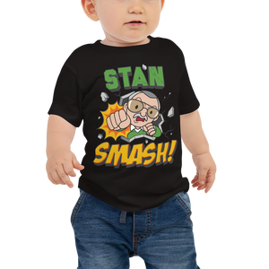 The Little Stan Lee SMASH! - Baby Tee