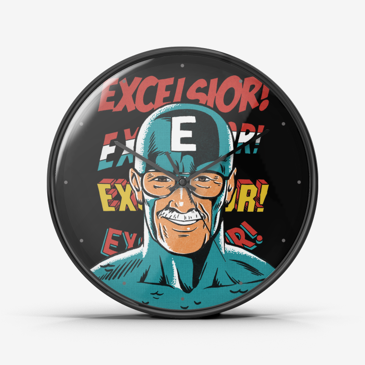 Comic Man Wall Clock