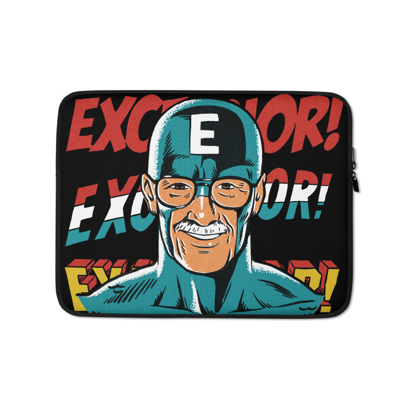 Comic Man Laptop Sleeve