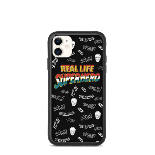 Real Life Superhero iPhone Case