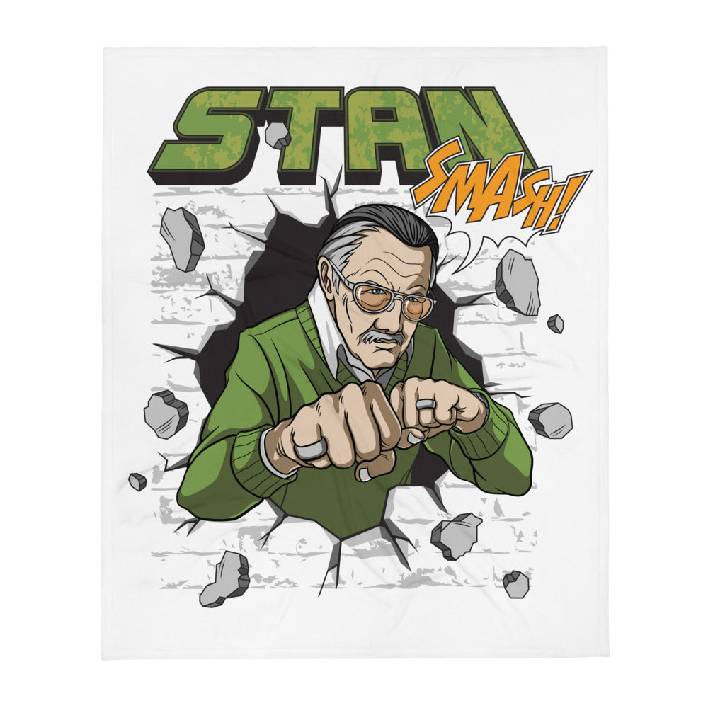 Stan Lee SMASH! - Throw Blanket