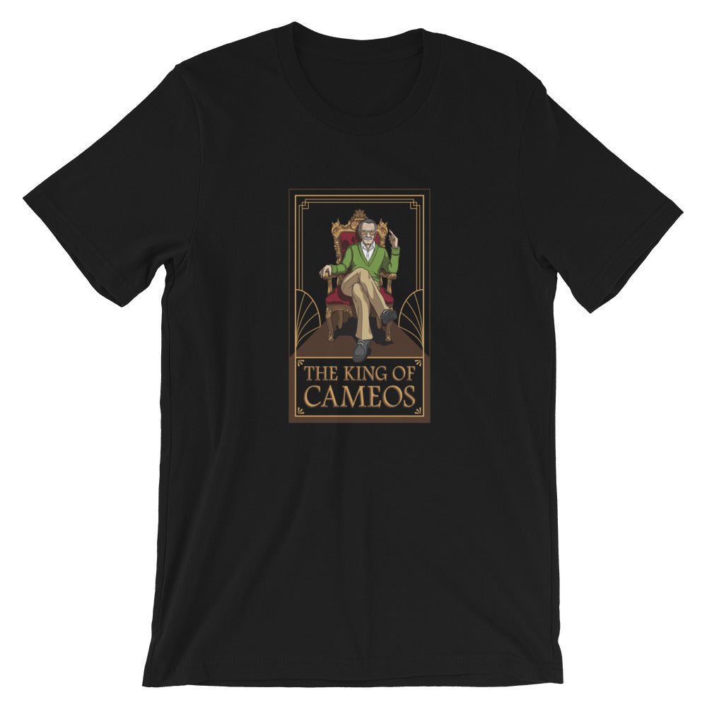 Stan Lee THE KING OF CAMEOS - Premium Unisex T-Shirt