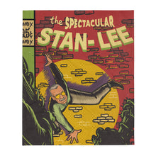 Load image into Gallery viewer, Stan Lee THE SPECTACULAR STAN LEE - Throw blanket