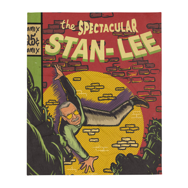 Stan Lee THE SPECTACULAR STAN LEE - Throw blanket