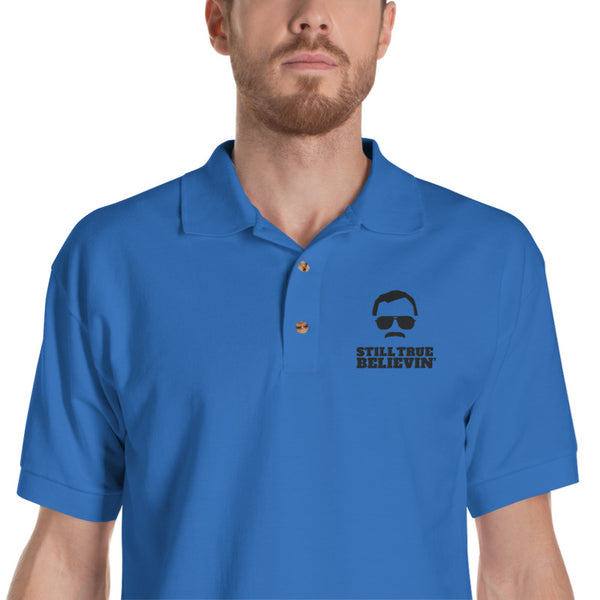 Stan Lee STILL TRUE BELIEVIN' - Embroidered Polo Shirt [SPECIAL EDITION]