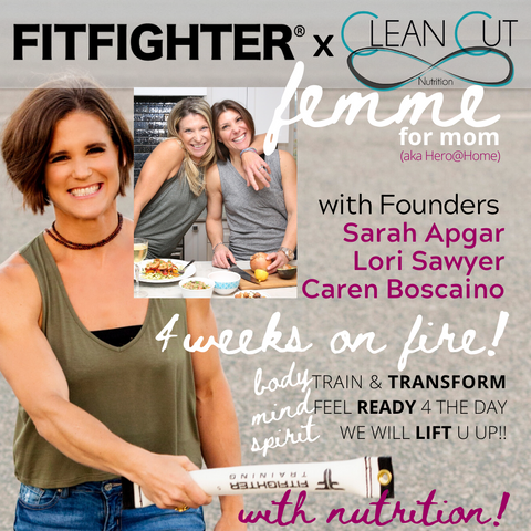 Femme Experience: 4 Weeks on Fire for Moms with Nutrition