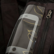 TOBE Tiro Mono Suit, Dark Ink - functional cellphone pocket