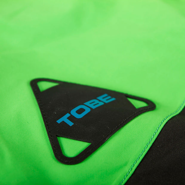 TOBE Tiro Insulated Mono Suit, Classic Green - Detail logo