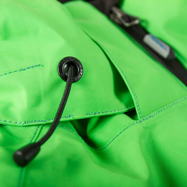 TOBE Tiro Insulated Mono Suit, Classic Green - Hood Detail
