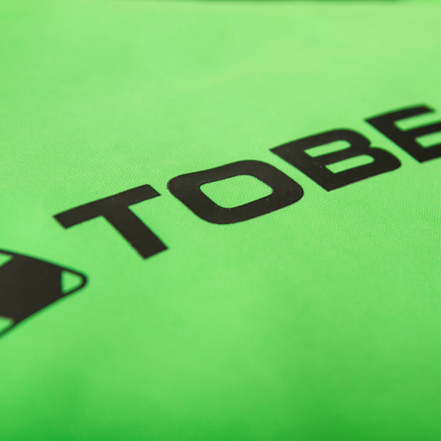 TOBE Tiro Insulated Mono Suit, Classic Green - logo Detail