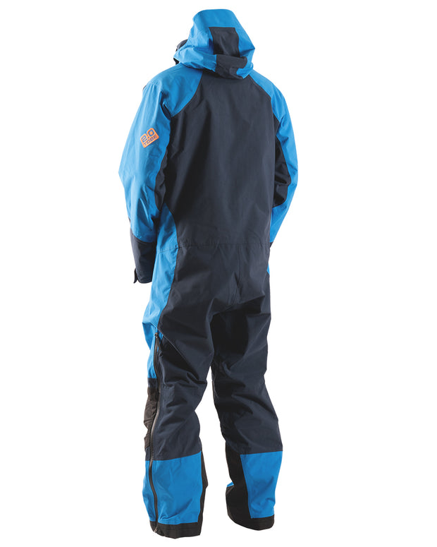 Novo V3 Insulated Mono Suit, Blue Aster - Back