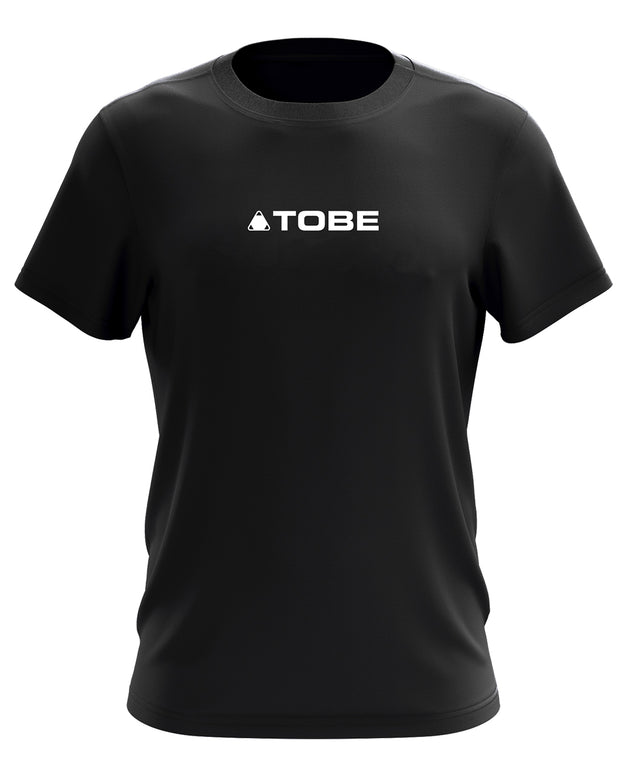 Base Tee, Black/White