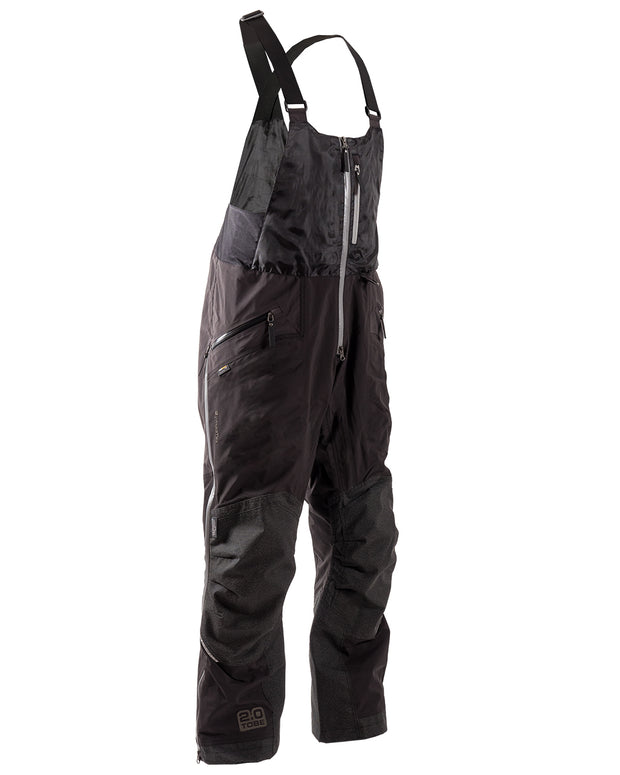 Iter black Insulated Snowmobile Bib | TOBE Outerwear
