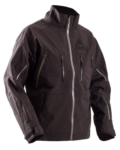 TOBE Iter Insulated Snowmobile Jacket Black - Front