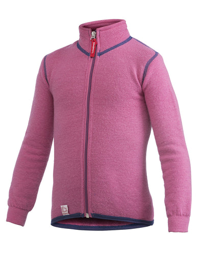 KIDS Full Zip Jacket 400, Sea Star Rose