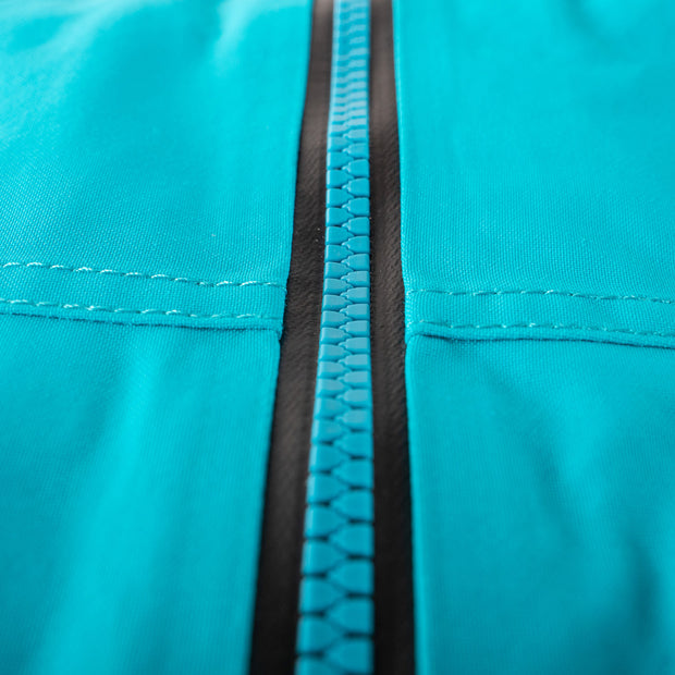 The Novo Jacket's YKK Aquaguard Waterproof Zipper | Main Zipper