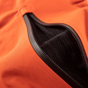 The TOBE Novo Jacket has back-compatible mesh-lined ventilation on the chest.