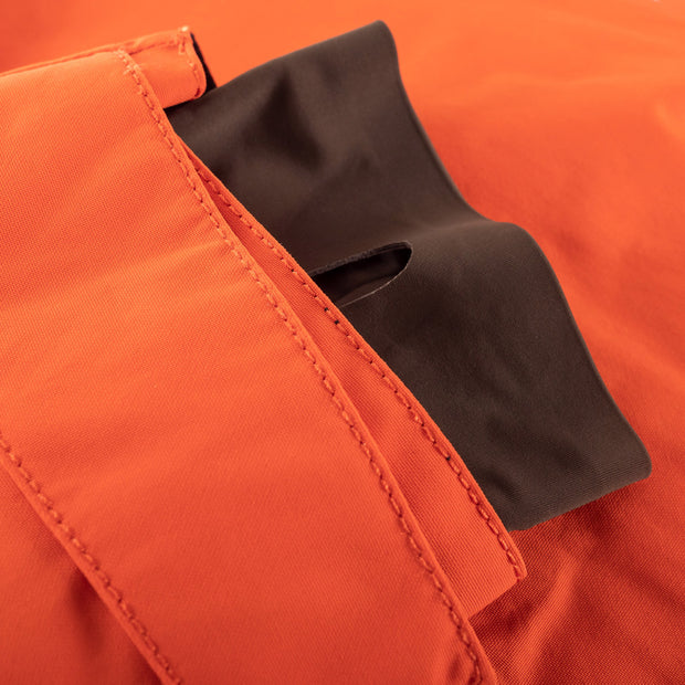 One of the most popular features on the Novo Jacket is it's perfect-fit, laser-cut wrist gaiters.