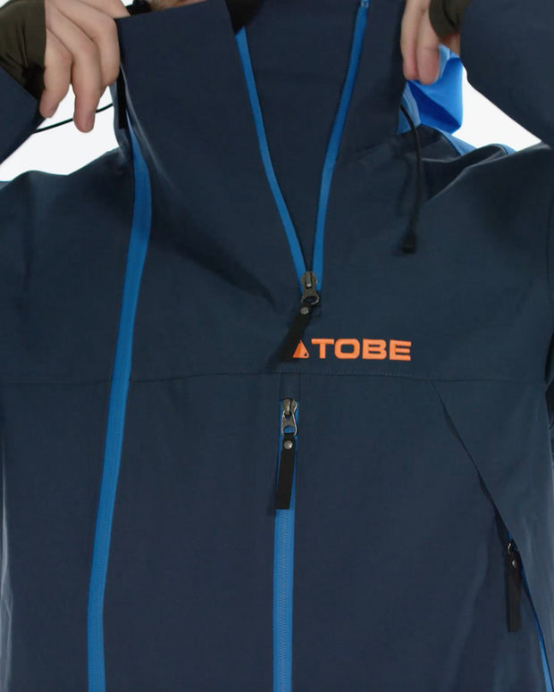 Novo V3 Mono Suit Insulated, Blue Aster