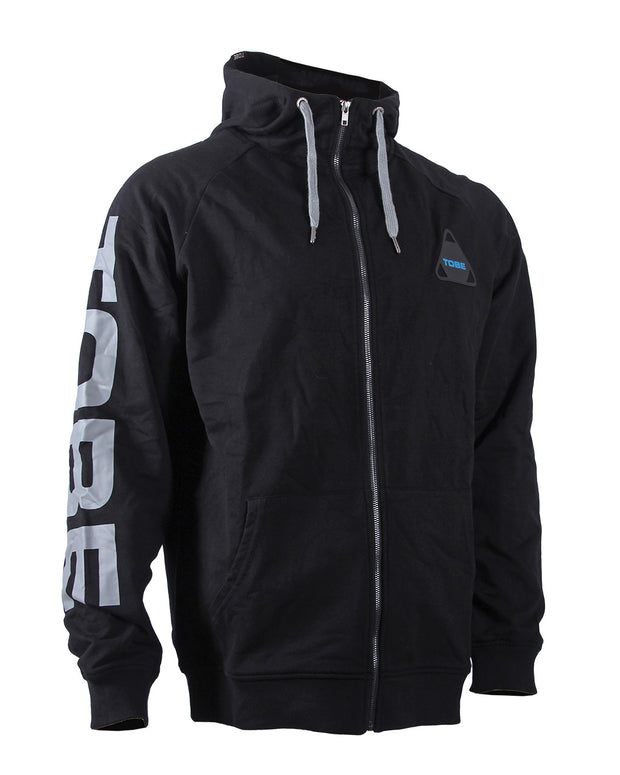 Sign Zip-Hood, Black