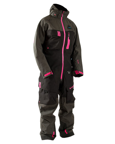TOBE Tiro Insulated Mono Suit, Dark Ink Pink - Front