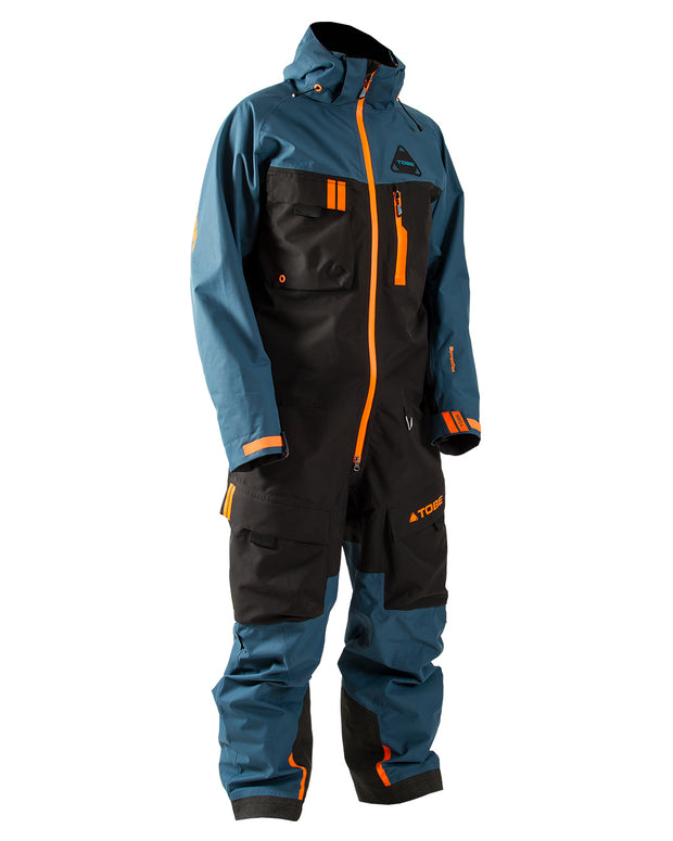 TOBE Tiro Insulated Mono Suit, Legion Blue - Front