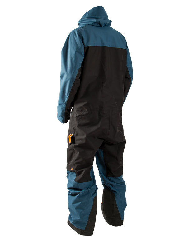 TOBE Tiro Insulated Mono Suit, Legion Blue - Back