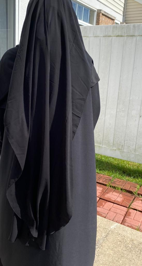 Two layer niqab- XL