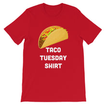 Load image into Gallery viewer, Taco Shirt - Short-Sleeve Unisex T-Shirt