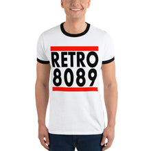 Load image into Gallery viewer, Retro 8089 Old School - Ringer T-Shirt