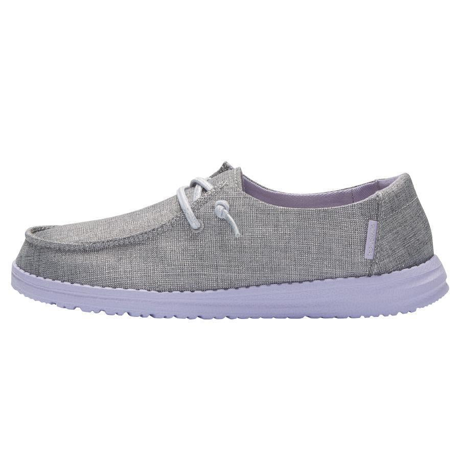 Hey Dude Youth Sparkling Grey Lilac