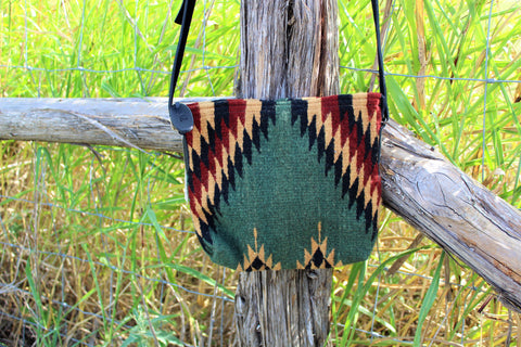 MZ Lightning Pine Wool Crossbody