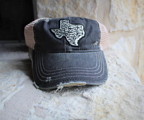 Trucker Hat Texas Guns
