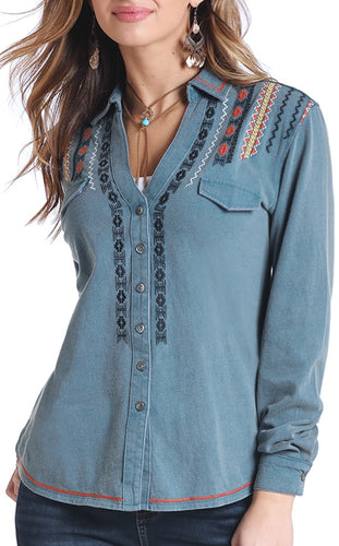R&R Embroidered Blouse