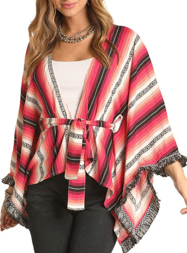 Rock & Roll Serape Poncho