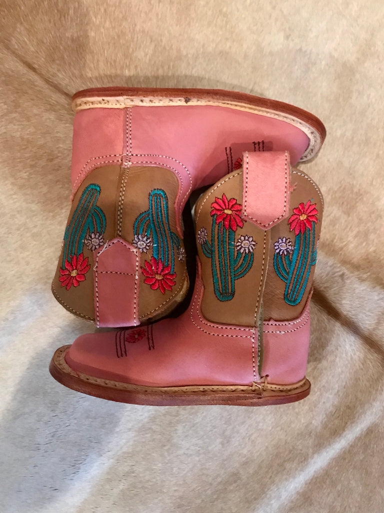 Roper Cactus Baby Boots