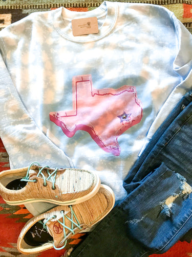 Pink Texas Sweatshirt