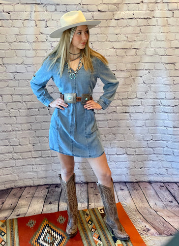 Velvet Heart Tamalia Denim Dress