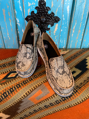 Ariat Cruiser Black/White Snake